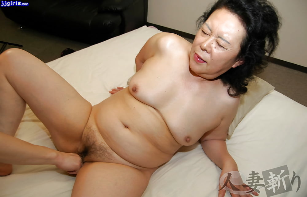 Asian granny getting fucked — 3