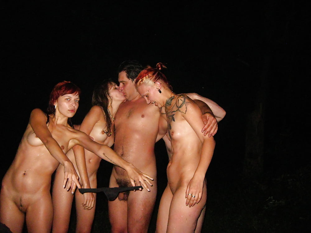 Пьяные девушки фото голые на природе