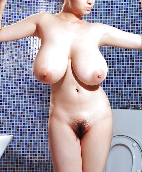 Asian milf big boobs short hair