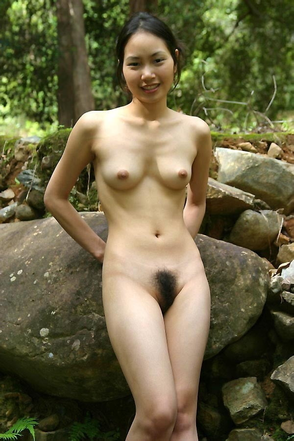 Asian Model Nude Showing Pussy
