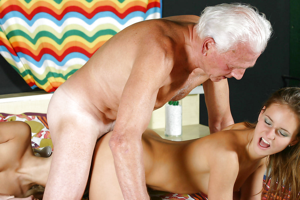 Old man fucking sexy girls #4