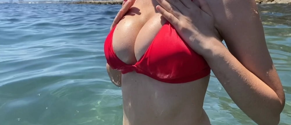 Orgasm in public place