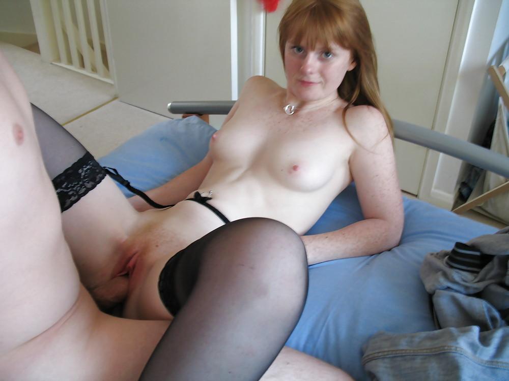 My Horny Redheaded Wife Enjoying A Good Vibe