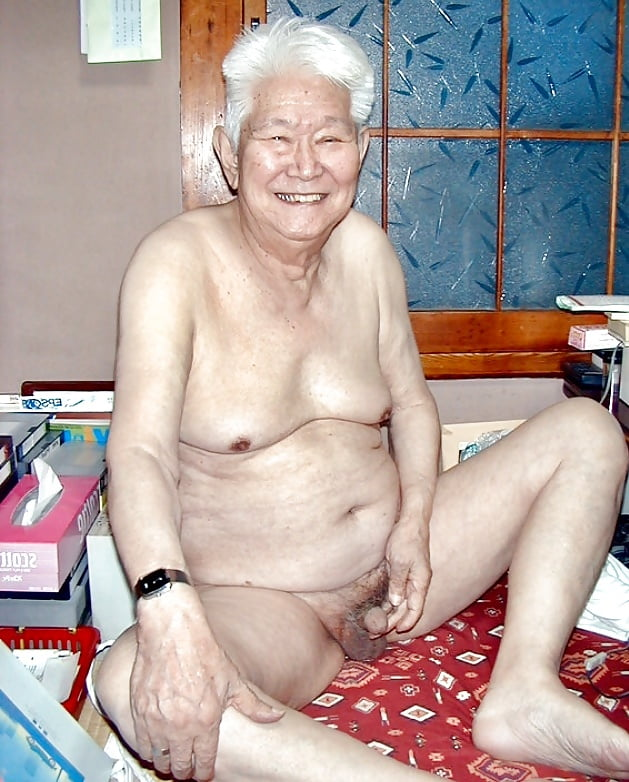 Chinese old granny naked