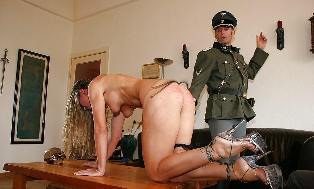 Порно гестапо в военном — 4