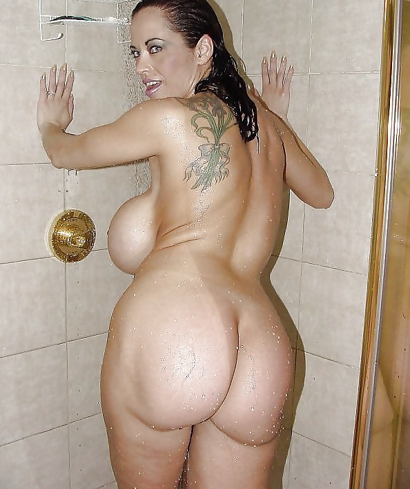 Just out the shower naked thick big girl — pic 9