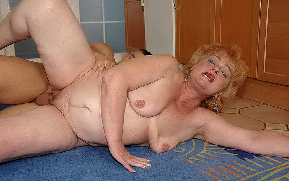 Real grandson fucks grandma anal pics