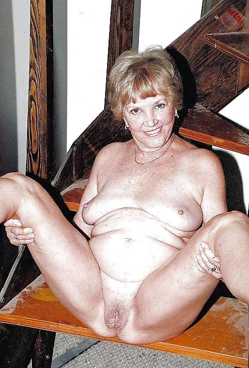 Gray Headed Woman Nudes Photos