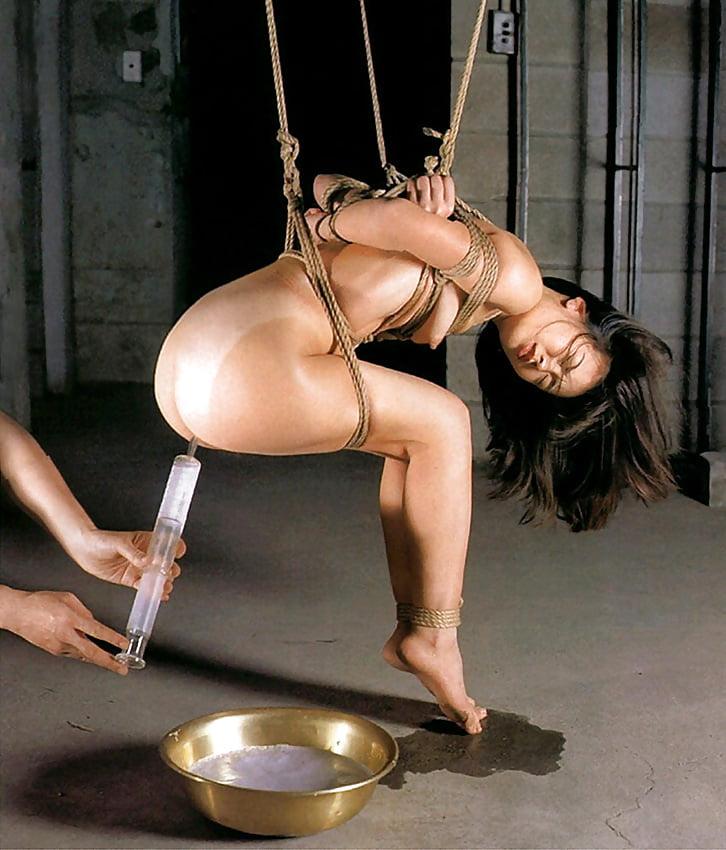 Enema bondage videos
