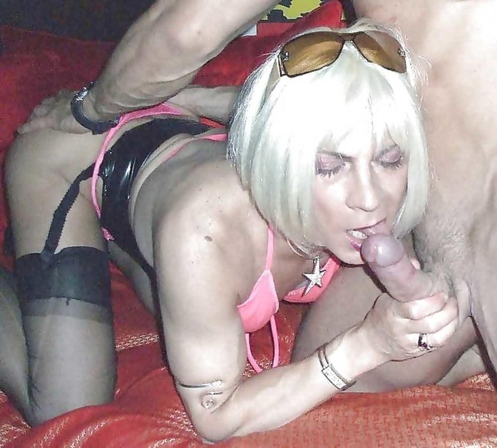 Kinky Blonde Crossdresser