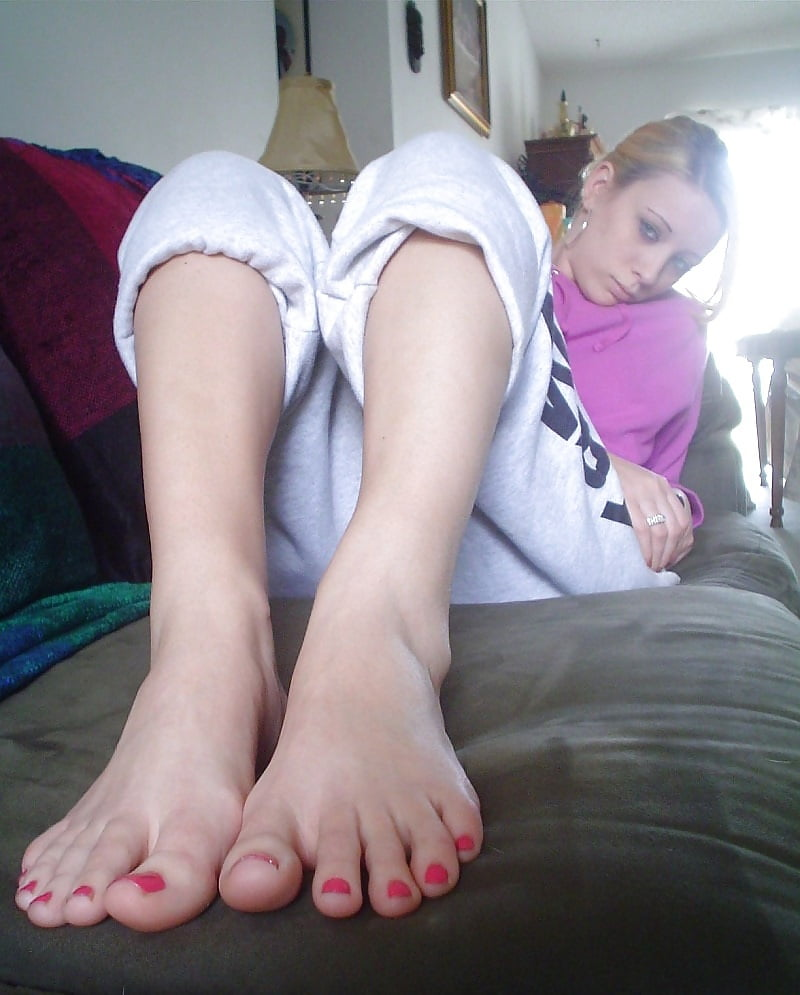 Feet amateur young #7