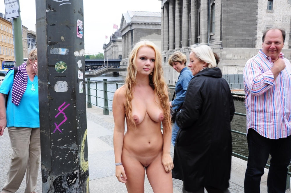 More Embarrassed Naked Females