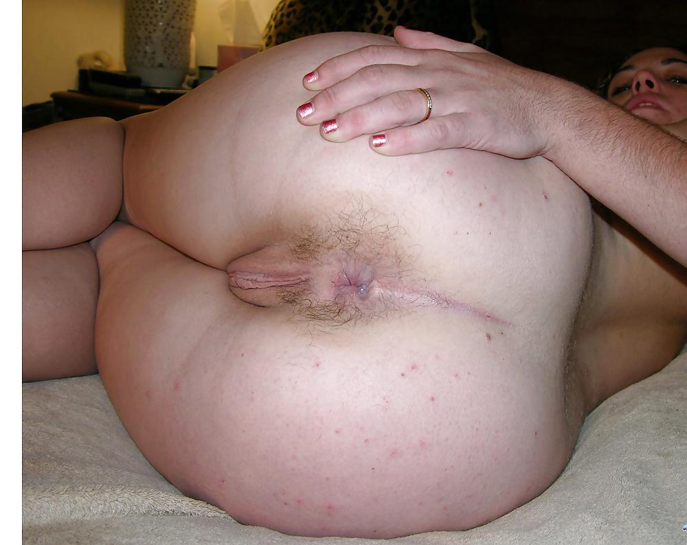 волосатая зрелая пьяная толстая пизда и анус фото