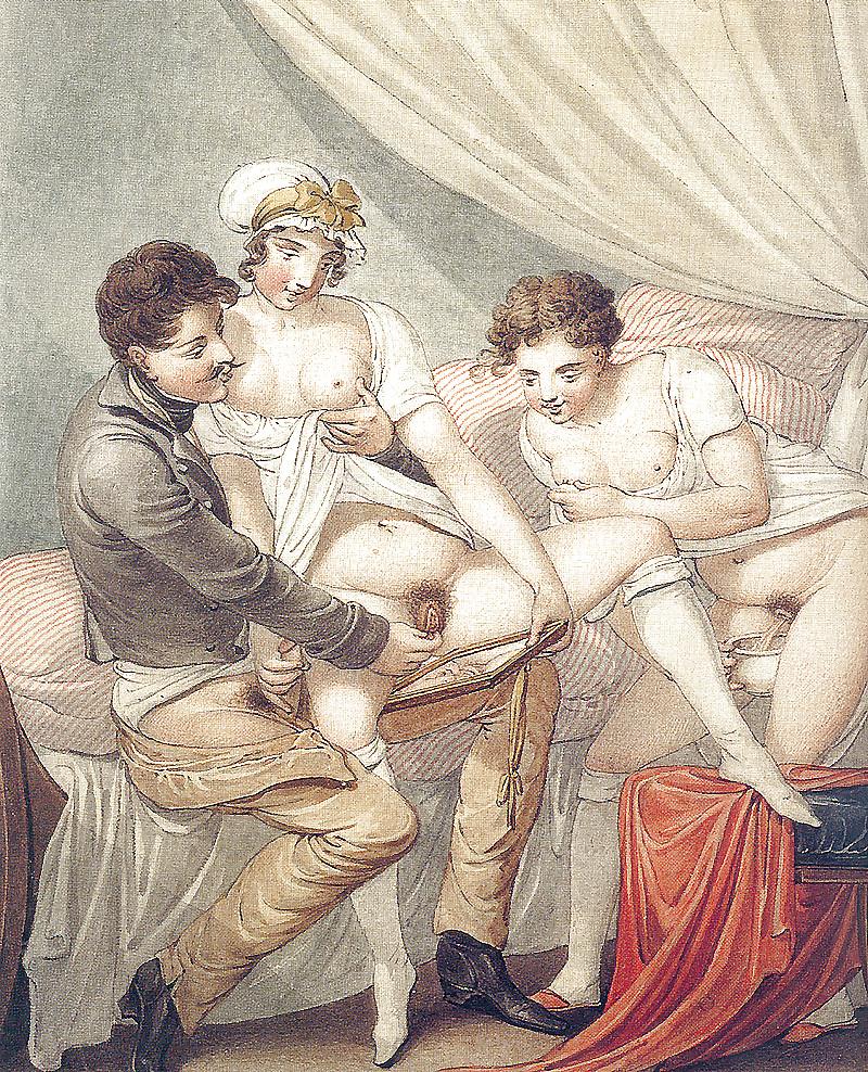 Анальный секс в старину #9