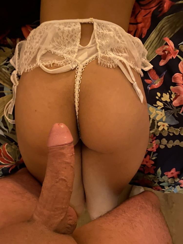 My cock on brazilian ass girl 19y