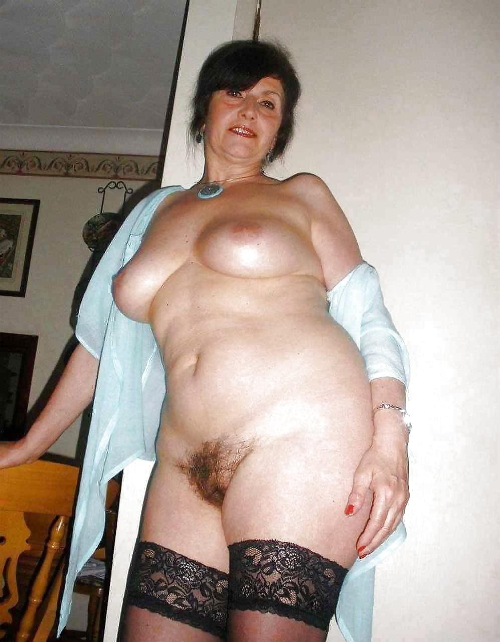 фото голых возрасте полных баб - 6