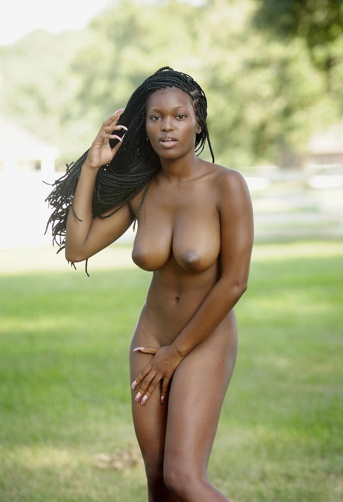 Young sexy ebony
