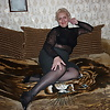 Russian mature woman, legs in stockings! Amateur!