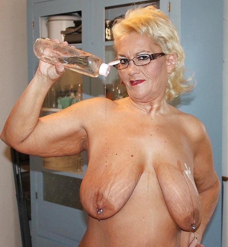 Nude older granny boobs teacher