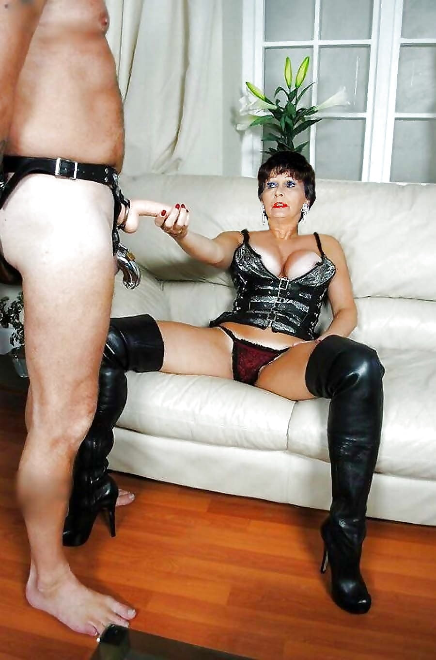 Mean mature mistress