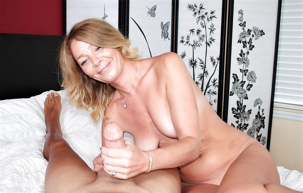 See and save as horny milfs handjobs porn pict