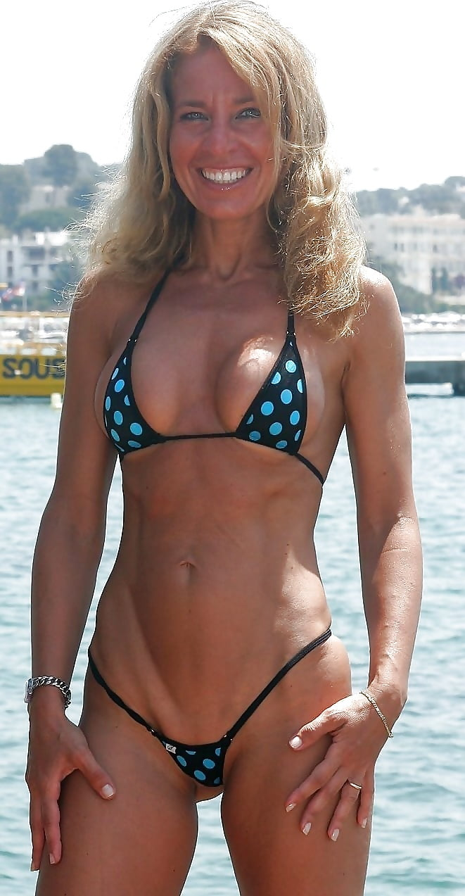 Older Women Bikini Pics