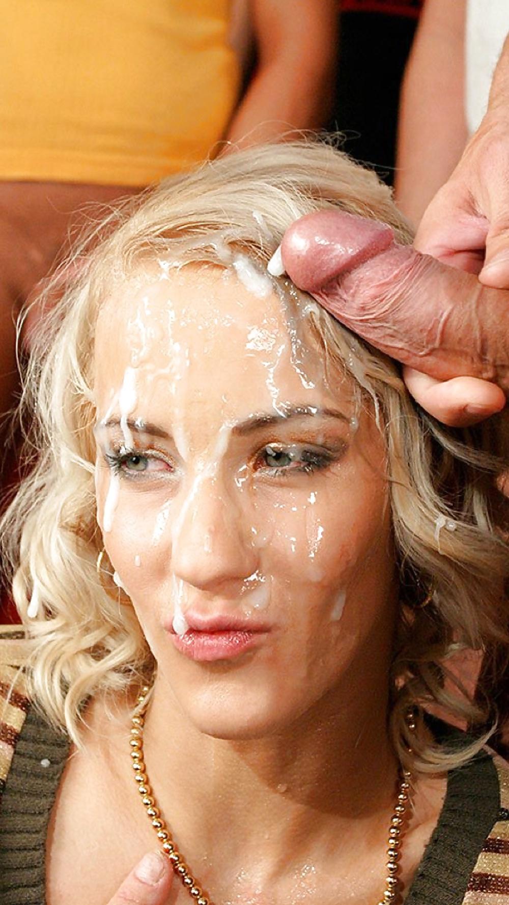 Онлайн брызги спермы на волосы сами