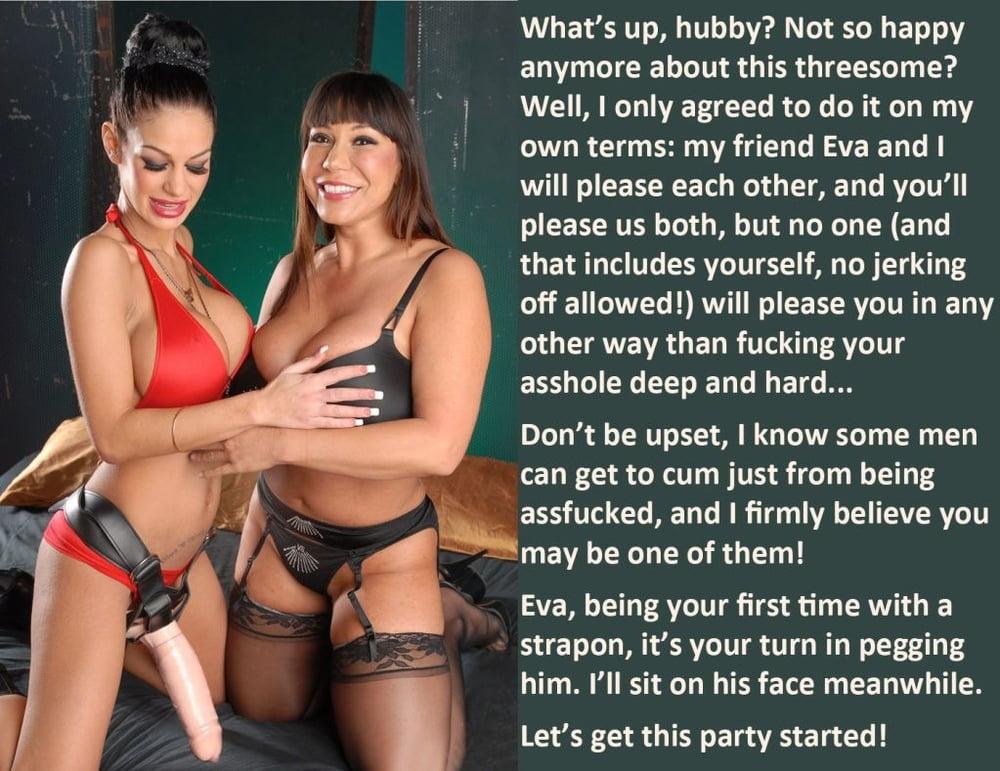 Lingerie femdom pussy captions, hpt naked girl