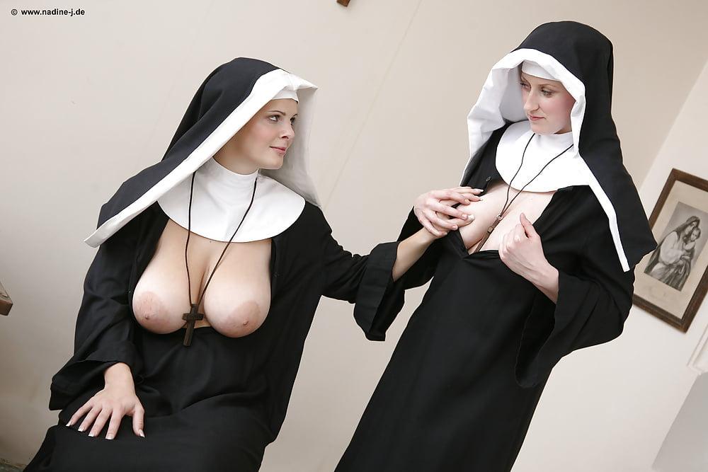 Bitoni picture of a busty nun naked black