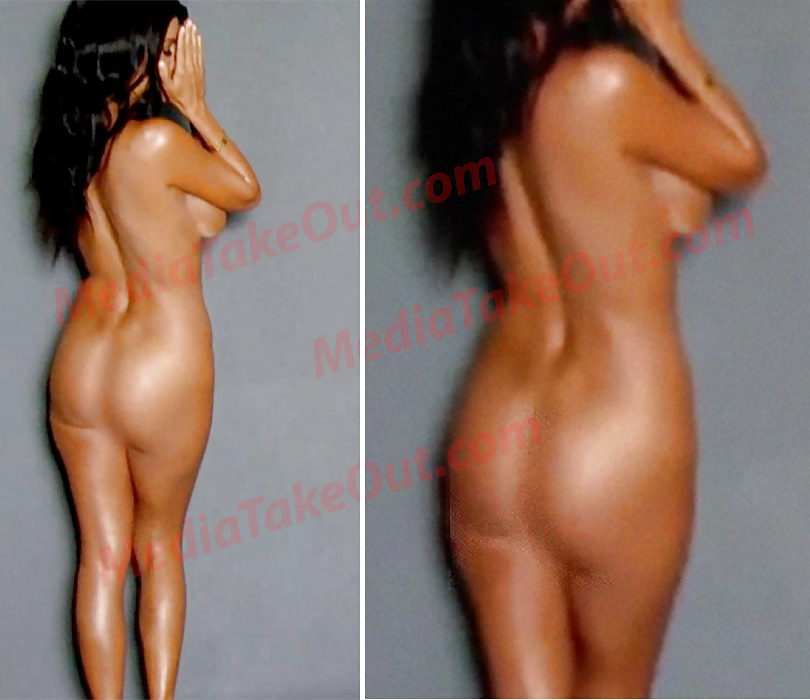 Pregnant Kourtney Kardashian Poses Nude In Empowering Dujour Shoot