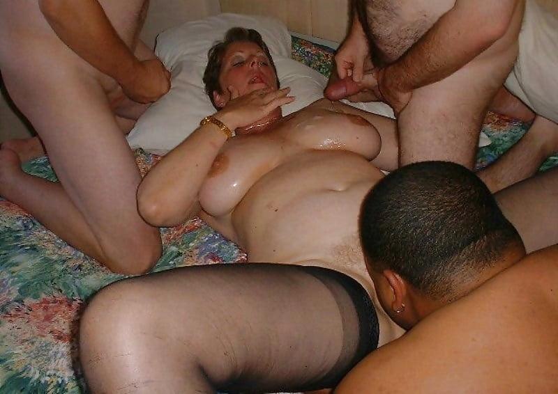 Русский секс с пышными женами #5