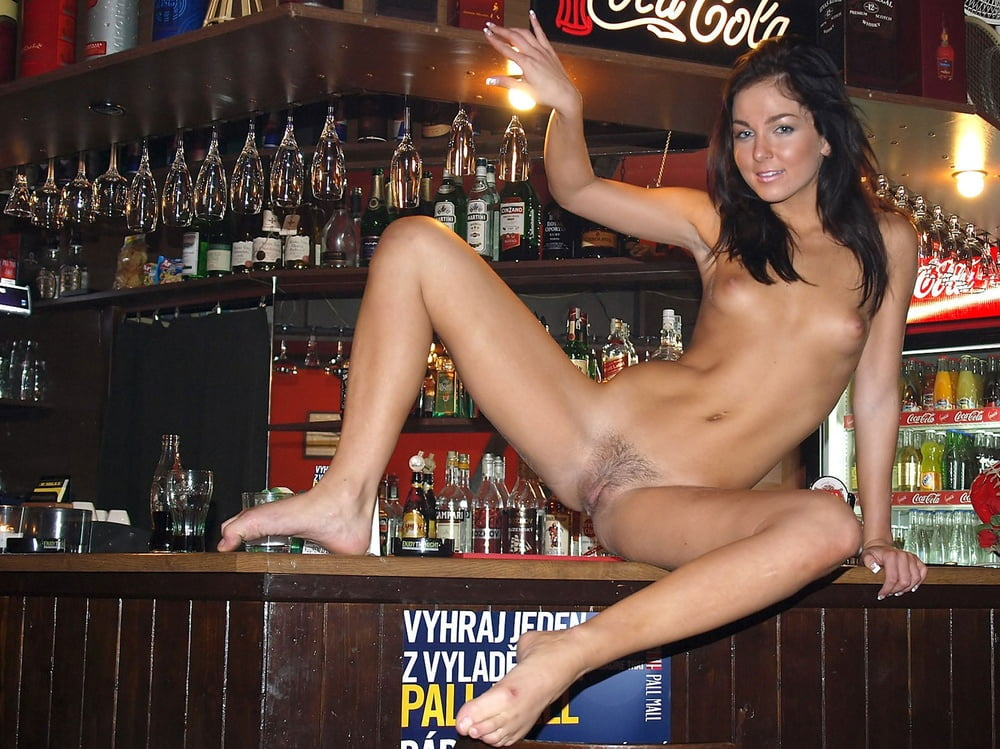 Nude Girls In A Bar