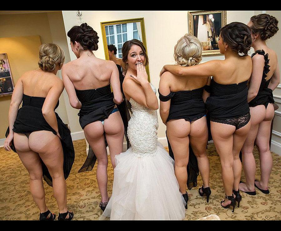 Naked bridesmaid picture — pic 11