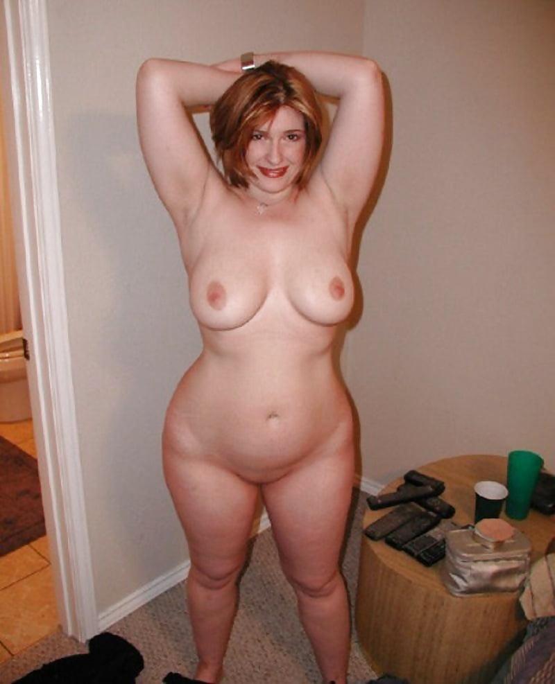 Old curvy nude milf