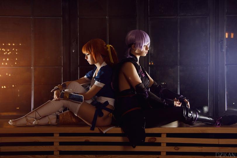 DHM - Kasumi and Ayane - 46 Pics
