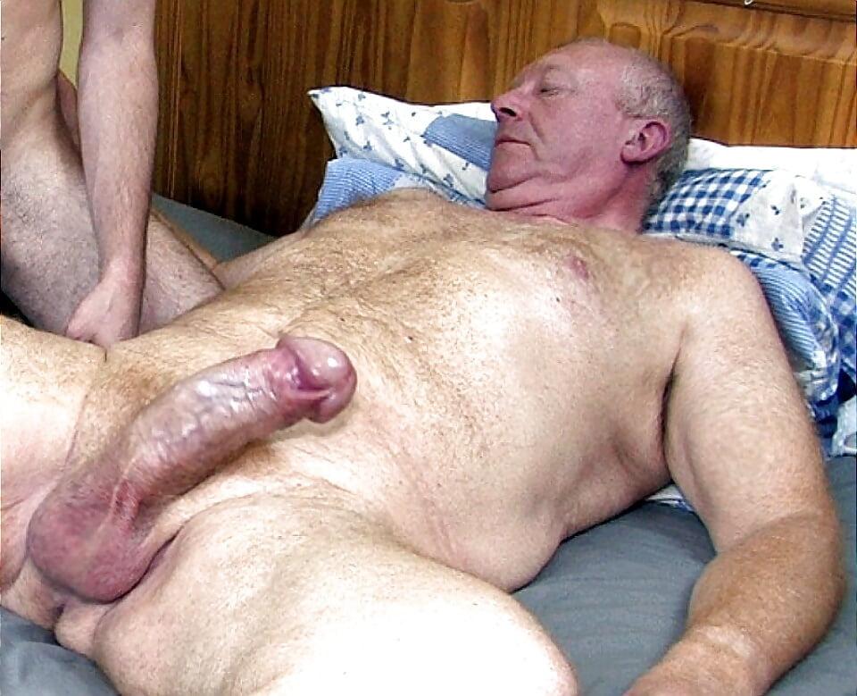 Old Men Cumming, Porn