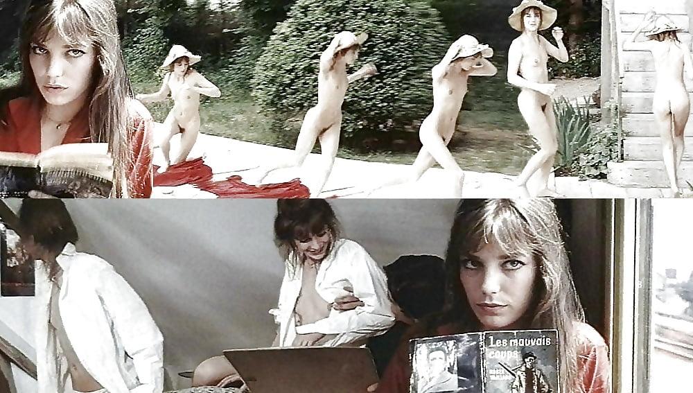 Джейн биркин в порно, молодая худенькая девушка показывает киску