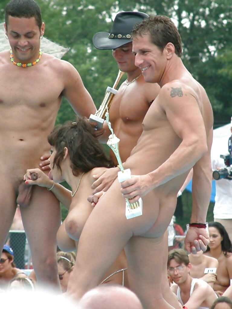 Funny most nude women in beach