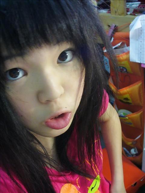 Cute girl gets creampie-8799