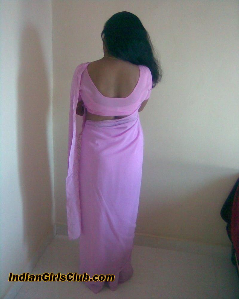 Saree Back