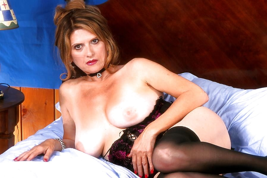 Hairy mature lingerie-8763