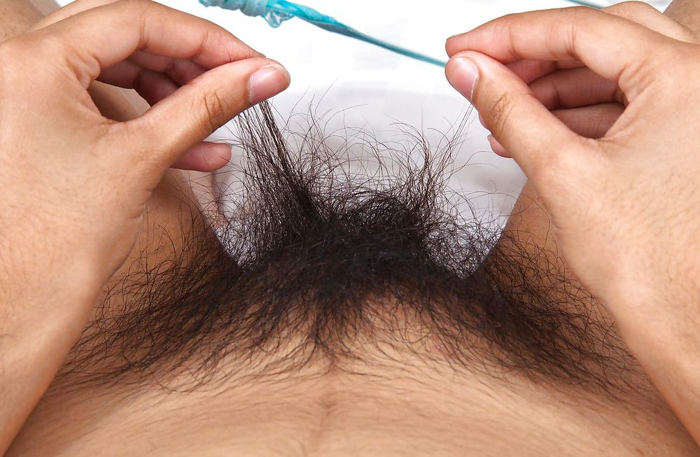 Волосы на писе женщин 7