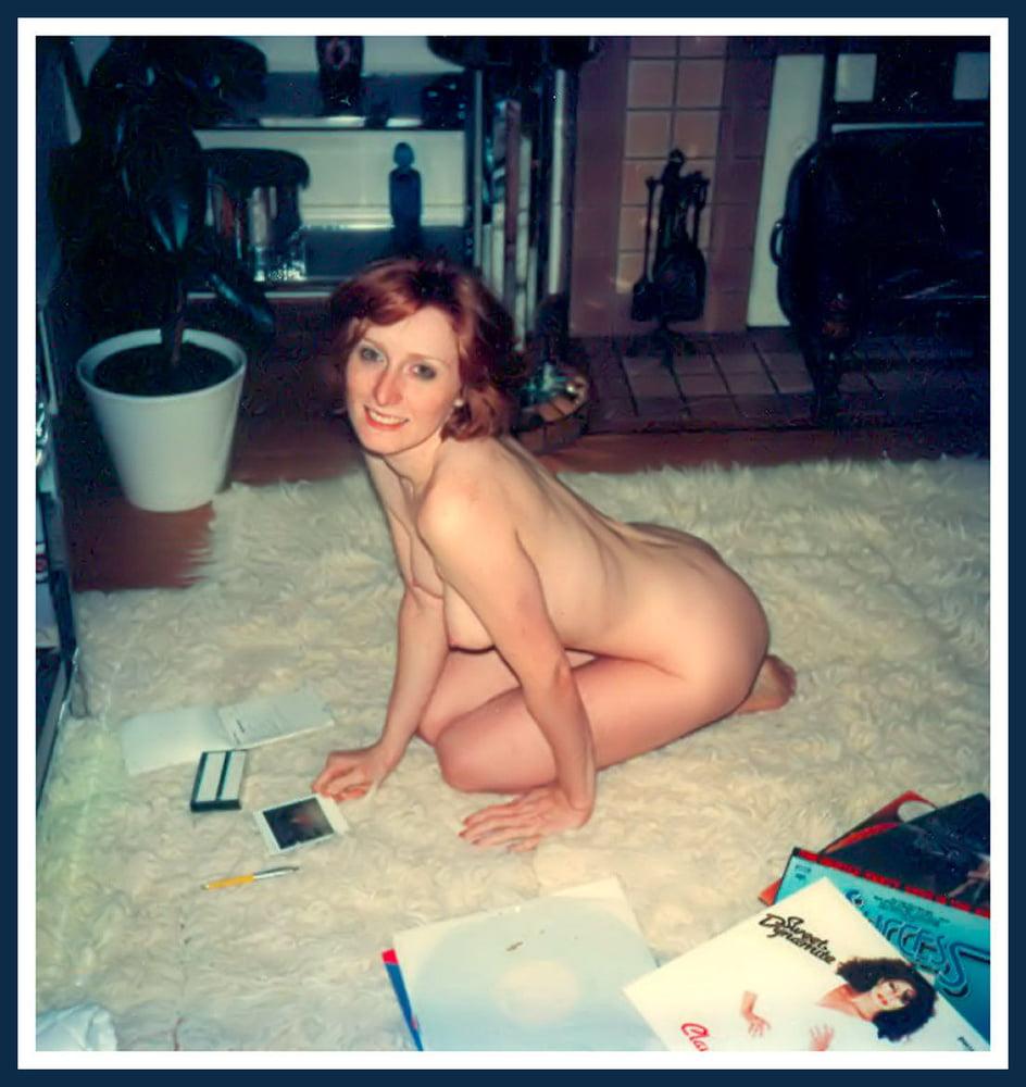 Vintage Amateur Polaroid Nude Wives