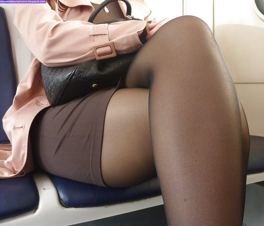 Legs and tights pantyhose upskirts