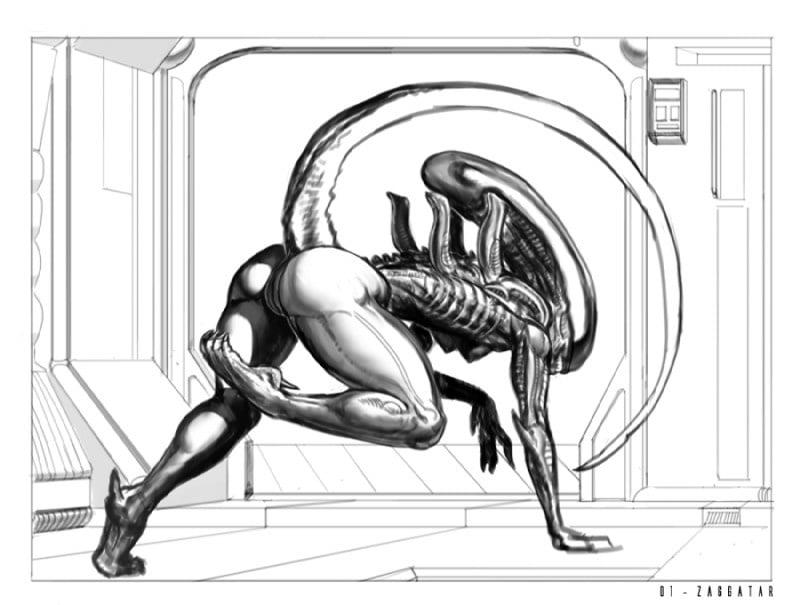 Cartoon porn alien-9409