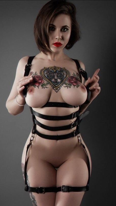 Tits tattoo. - 1257 Pics