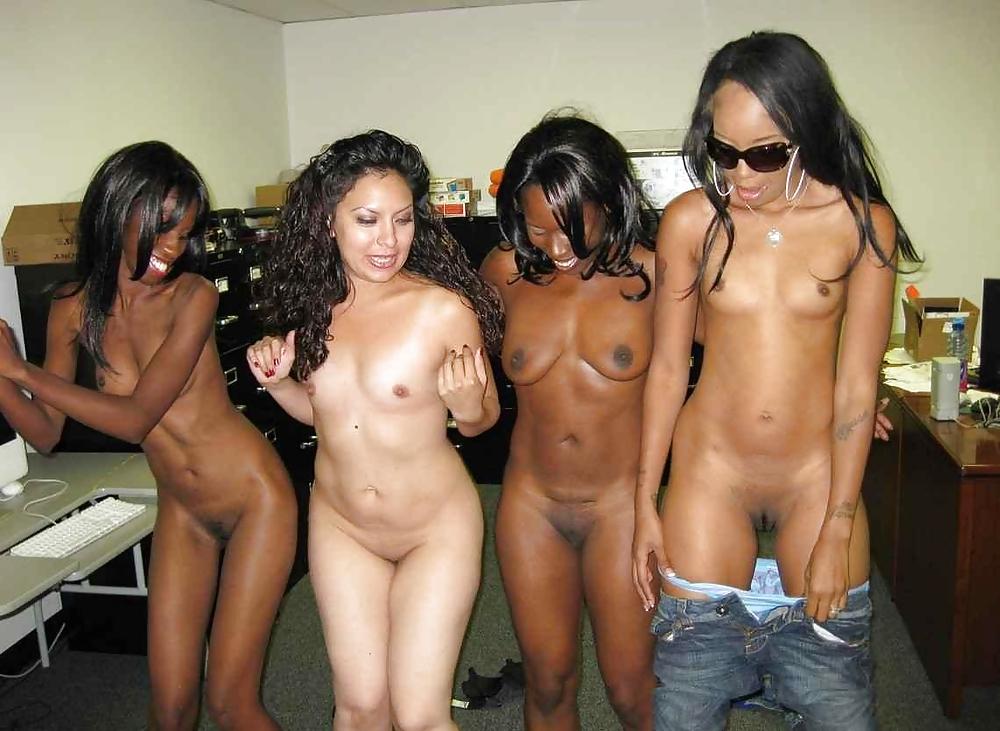 Black college party porn