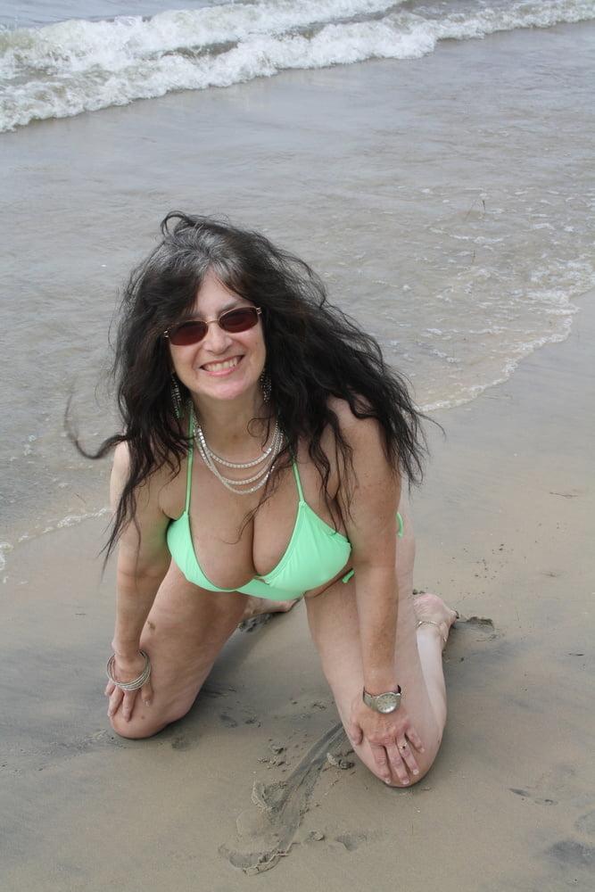 Tinja Heats Up The Beach - 51 Pics