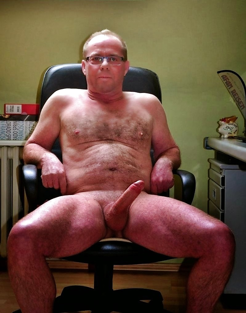 Old Man Nude