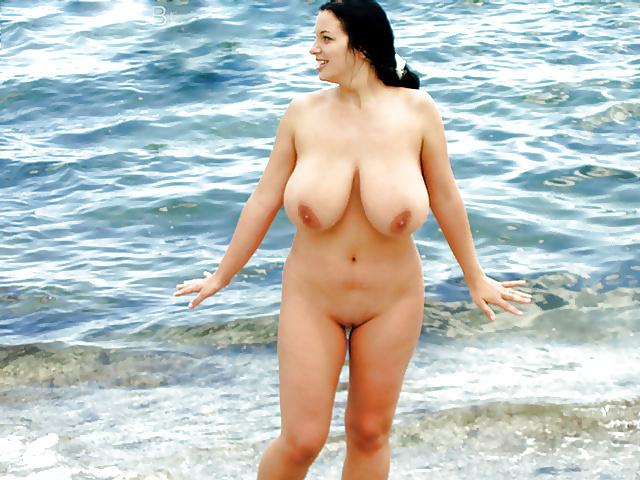 Girl beach naked-1253